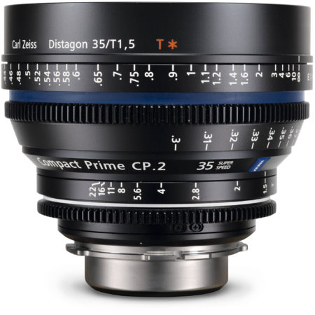 Zeiss Compact Prime CP.2 35mm/T1.5 Super Speed EF Mount with Metric Markings